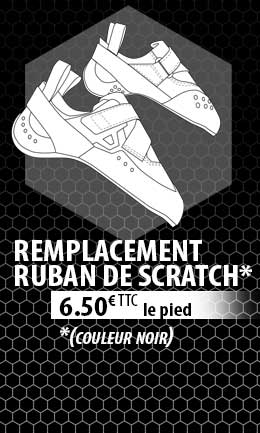 remplacement velcro